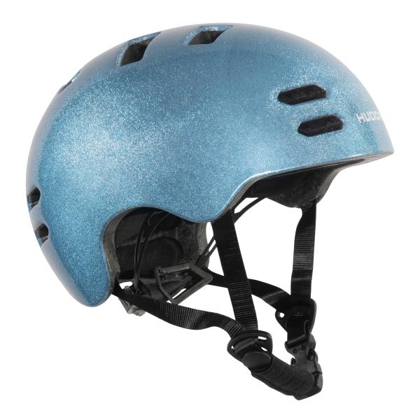 HUDORA Skaterhelm Reflect, blau