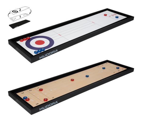 Für Unterwegs: Shuffleboard Compact