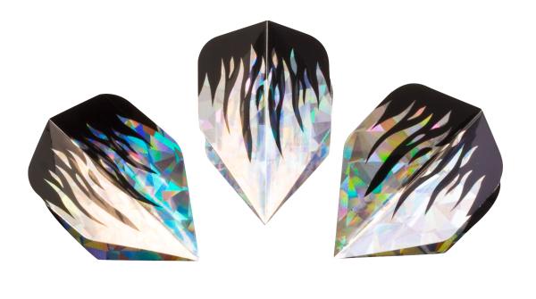 HUDORA Ersatzflight Hologramm für Dartpfeil, 3 Stück