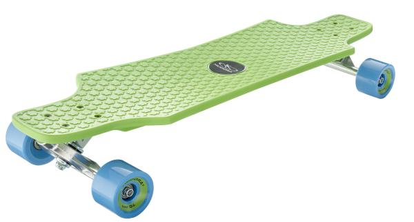 Longboard Fun Cruiser, grün