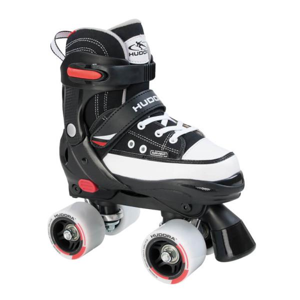 HUDORA Rollschuh Roller Skate, Gr. 28-39, schwarz