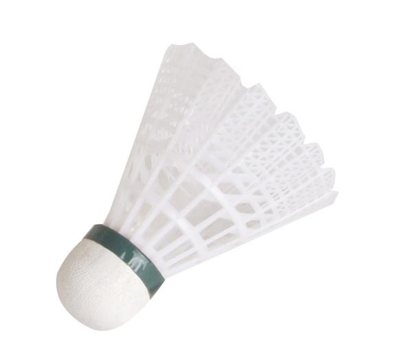 HUDORA Badmintonball Training Kork, 4 Stück
