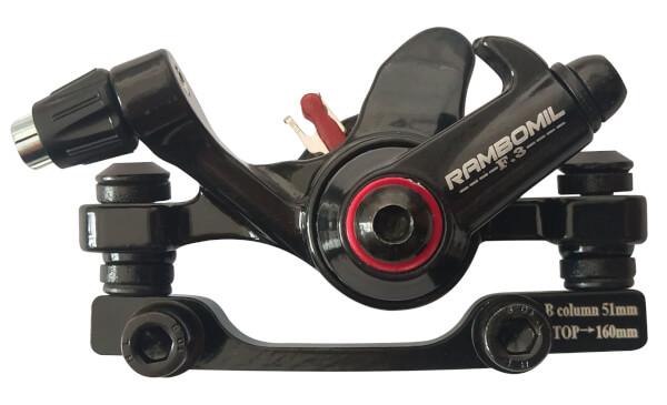 1 Bremseinheit für 6 Loch Scheibenbremse für HUDORA BigWheel® Air 230 Dual Brake