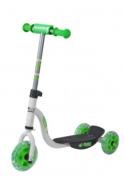 HUDORA Kiddyscooter joey 3.0, weiß/grün