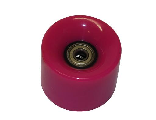 HUDORA_1 Ersatzrolle, pink 60 x 45 mm, für Retro Skateboard_WS32957.jpg