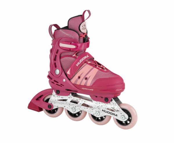 HUDORA Inline Skates Comfort, strong berry, Gr. 29-40