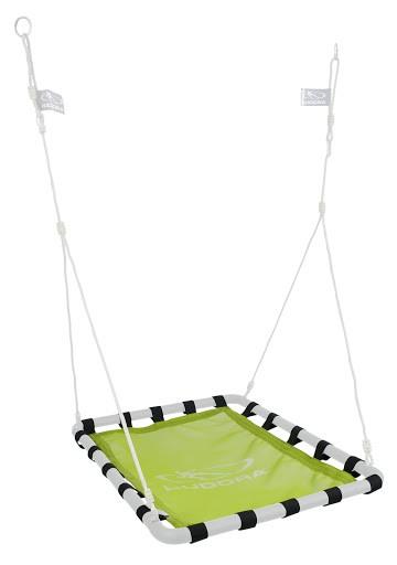 1 Schaukeltuch für die Alu Nestschaukel Square 120 grün